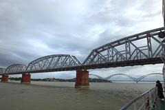 インワ鉄橋(アヴァ橋)