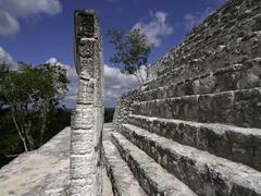 【カンペチェ州、カラクムールの古代マヤ都市と熱帯雨林保護区】カラクムル