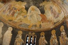 【カーリエ博物館】聖母に抱かれた幼子イエスとその周囲に天使たち