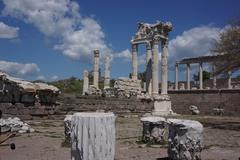 【ベルガマ(ペルガモン)遺跡】アクロポリスの神殿