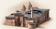 【ディヴリーイの大モスクと病院】モスクと病院全体