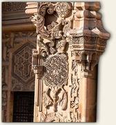 【ディヴリーイの大モスクと病院】戸の横の綺麗な浮き彫り