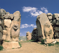 【ハットゥシャ:ヒッタイトの首都】ハットゥシャの獅子の門