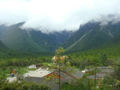 【玉龍雪山】雪山の観光施設