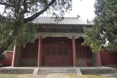 【岱廟 世界遺産】建物の一角