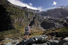 【ロブロイ氷河】トレッキングには万全の準備をして臨んで/Lake Wanaka