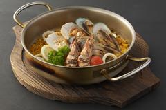 【オルゴ】Seafood Paella