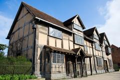【シェークスピアの生家】ストラトフォード・アポン・エイボンの中心部にあるシェイクスピアの生家