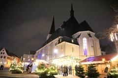 【ヘルダー教会】夜の教会