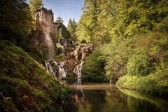 【ヴィルヘルムスヘ-エ城公園】水と緑の公園