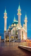 【カザン・クレムリンの歴史遺産群と建築物群】クレムリン内のクル=シャーリフ・モスク