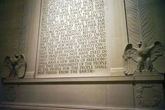 【リンカーン記念堂】リンカーンの言葉