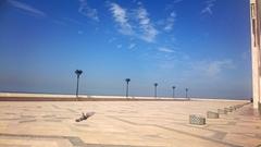 【モハメッド5世広場】海に面したスポット