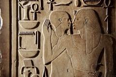 【エジプト考古学博物館】遺跡から数々の壁画が発掘されている