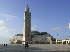 【ハッサン2世モスク】世界で一番高いというミナレット