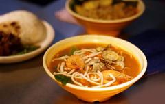 【大中沙茶麺(ダイチュウサチャメン)】麺の写真