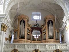 【旧大聖堂(聖イグナチウス教会)】ブルックナーが演奏したパイプオルガン