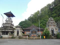 【ウルン・ダヌ・バトゥール寺院】標高1300mを越すキンタマーニ高原にある