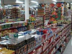 【デルタ・デワタ】所狭しと商品が並ぶ店内