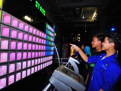 【国立プラネタリウム】宇宙に関するさまざまな展示がある