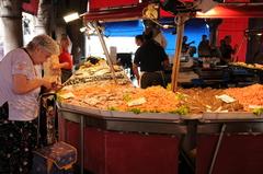 【魚市場】市場の様子