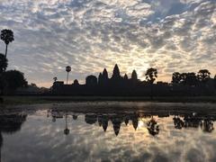 【アンコール・ワット】Angkor wat Sunset