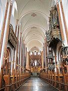 【ロスキレ大聖堂】1460年に建てられたクリスチャン一世礼拝堂