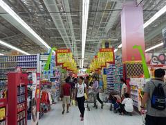 【ハイパーマート】食料品から電化製品、お土産屋まで何でも揃う