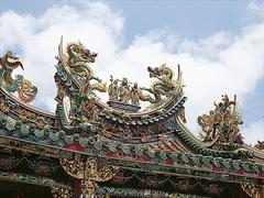 【清水巖清水祖師】細部まで意匠が凝らされた台湾屈指の彫刻