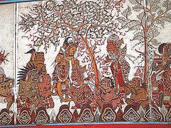 【スマラプラ宮殿】天井画も見もの