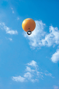 【アンコール・バルーン】上空200mで約10分止まる間にアンコール遺跡を上空から眺められる